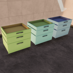 Drawers (frost) interactive