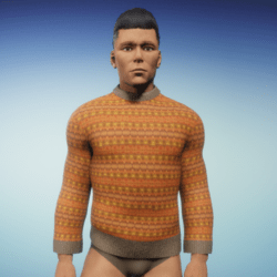 men's fairisle sweater