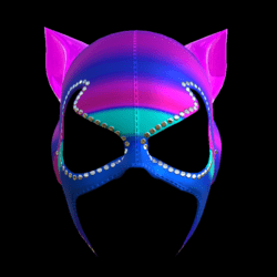 CATWOMAN MASK_ V2  COLORS C_ EMISSIVE_