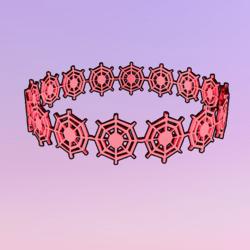 Netty Crown Pink