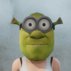 [F] Shrek Minion - Glasses