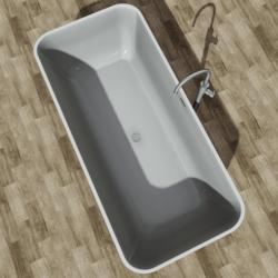 Bathtub White Point