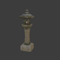 Stone Lamp V005