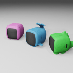 Animal Mini Speakers X3