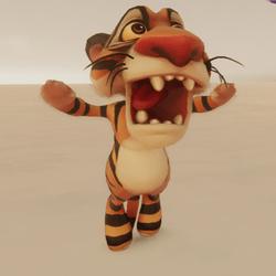 Tiger going Insane