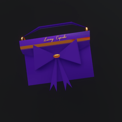 Luxury Cupcake Purse (Violet)