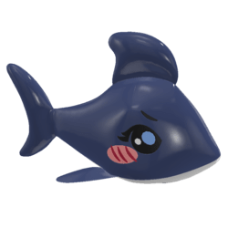 STATIC Blow Up Shark