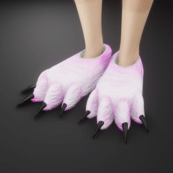 Furry fuzzy slippers of doom