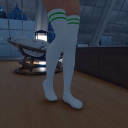 Thigh High Socks (Green)