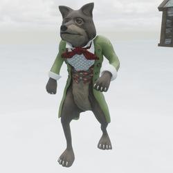 Wolf Male Fairytale