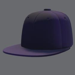 DemiGod Cap Purp [MALE]