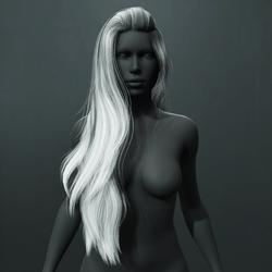Heather Hair - Gray