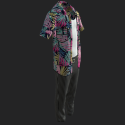 ACE VENTURA   OUTFIT_ F