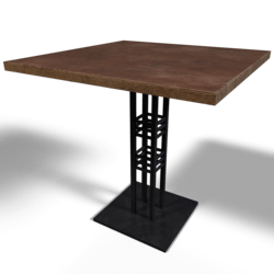 Bistro Table Industrial