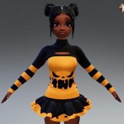 PunkPumpkin outfit
