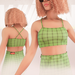 Green Iconic Top