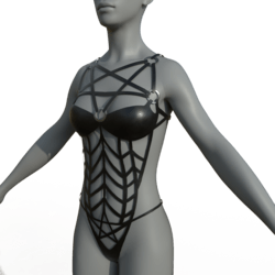 Female Body Harness