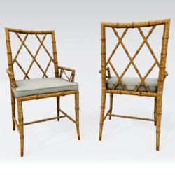 MESHOWRX Macau Bamboo Chair Natural