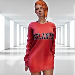 ✿ Atlantic Sweater Mini Dress ✿