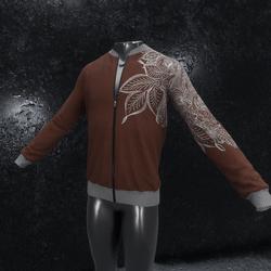Jacket Ornament brown