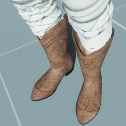 Cowboy Boots SUEDE LEATHER