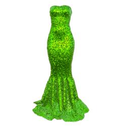 Mermaid Dress AV2 green
