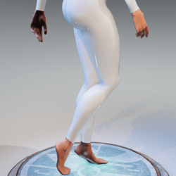 Hands and feet for Kismet body (dry version)