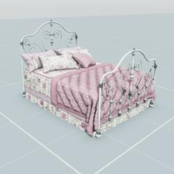 Antique Bed 1.3