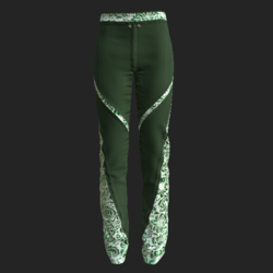 Fran pants green