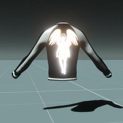 Galileo Jacket White Black