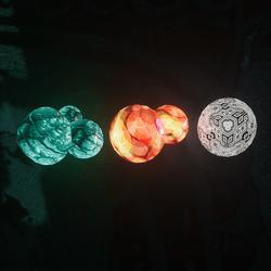 Hippy Mushroom Set 6