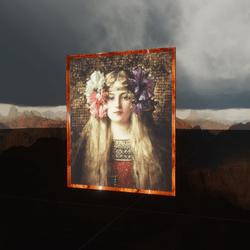 Leon Francois Comerre The Blonde Woman