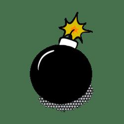 Animated Comic Bomb