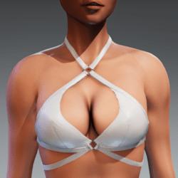 Carol Bikini Top for Kismet Body (3A or 3B) by Apocalypse Bunnies (white)