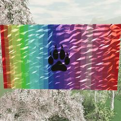WolfenKind Rainbow Painting V2