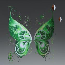 FairyWingsGreen