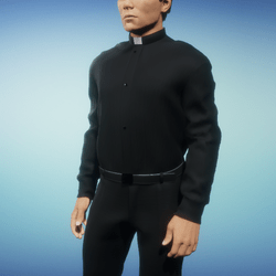 Catholic Priest Outfit