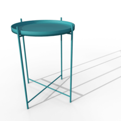 GLADOM Tray Table (Blue)