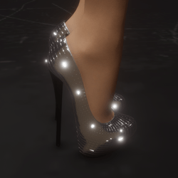 Disco Baby heels (with animated sparkle)