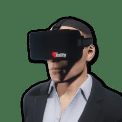 VR Headset Male