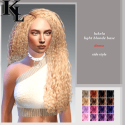 lukela-light blonde base-side style-DEMO