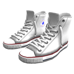 Shoes San-Star sneakers high white for man
