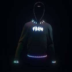 Hoodie Pyro Neon