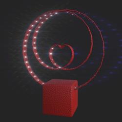 V-day light animated