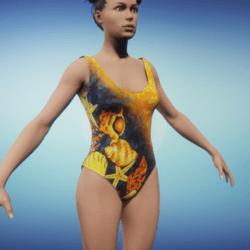 Seashell Swimsuit