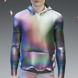 Animated Holographic Hoodie