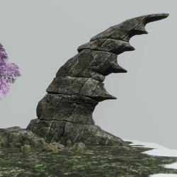 Skye Fantasy Rock Type 2 [Grey stone]