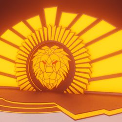 The stage of the lion
