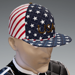 Red, White and Blue Scorpion Cap