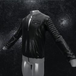Leather Jacket Ron black